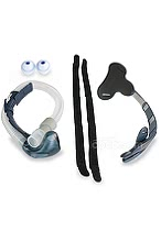 Breeze Nasal Pillow CPAP Mask Bundle (Mask with Headgear and Pillows)