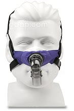 SleepWeaver 3D Soft Cloth Nasal CPAP Mask with Headgear